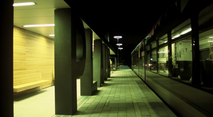 Bahnhof Plaus by Klaus Röthele